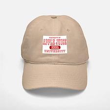 Apple Juice University Baseball Baseball Cap