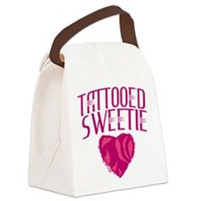 Tattooed Sweetie Tattoo Canvas Lunch Bag