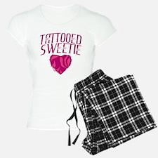 Tattooed Sweetie Tattoo pajamas