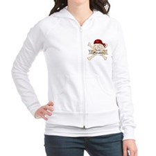 Pirates Skull And Crossbones Fitted Hoodie