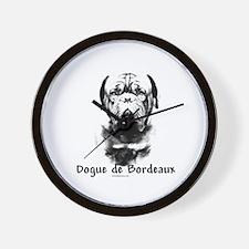 Dogue Charcoal Wall Clock