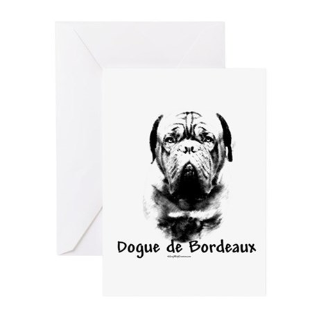 Dogue Charcoal Greeting Cards (Pk of 10)
