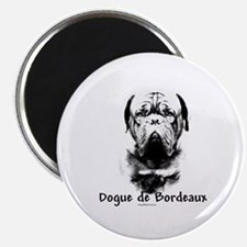 Dogue Charcoal Magnet