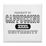 Cappuccino University Tile Coaster