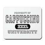 Cappuccino University Mousepad