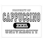Cappuccino University Small Poster