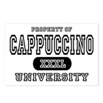 Cappuccino University Postcards (Package of 8)