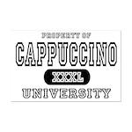 Cappuccino University Mini Poster Print