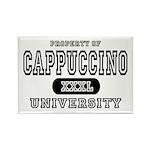Cappuccino University Rectangle Magnet
