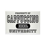 Cappuccino University Rectangle Magnet (10 pack)