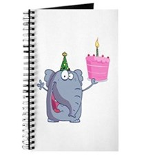 funny happy birthday elephant cartoon Journal