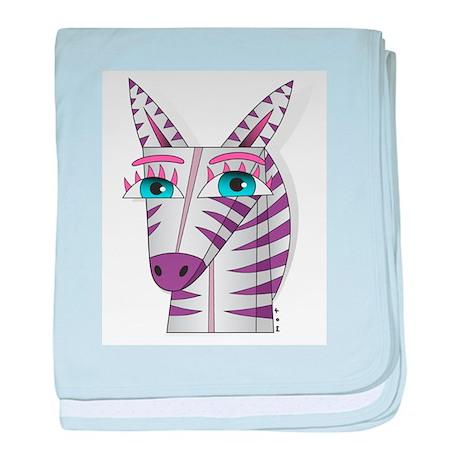 zelda da zebra baby blanket
