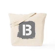 Initial Letter B. Tote Bag