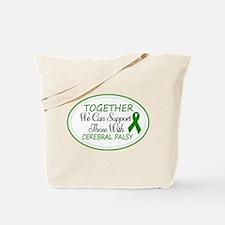 Cerebral Palsy Support Ribbon Tote Bag