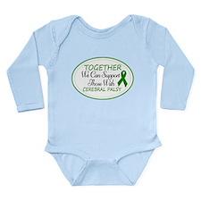 Cerebral Palsy Support Ribbon Long Sleeve Infant B