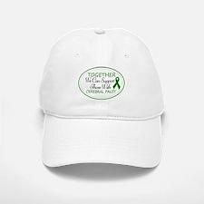 Cerebral Palsy Support Ribbon Baseball Baseball Cap