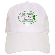 Cerebral Palsy Support Ribbon Baseball Cap