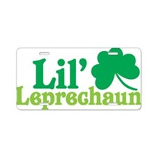 Lil Leprechaun Aluminum License Plate