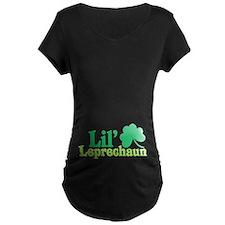 Lil Leprechaun Maternity T-Shirt