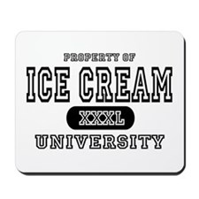 Ice Cream University Mousepad