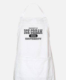 Ice Cream University BBQ Apron