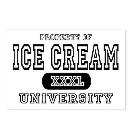 Ice Cream University Postcards (Package of 8)