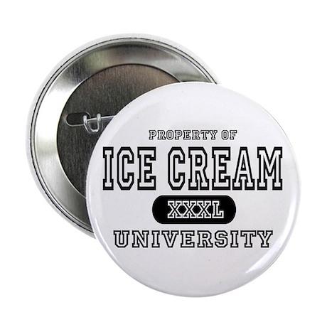 "Ice Cream University 2.25"" Button (10 pack)"