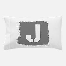 Initial Letter J. Pillow Case