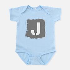 Initial Letter J. Body Suit