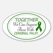 Cerebral Palsy Support Ribbon Bumper Stickers