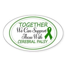 Cerebral Palsy Support Ribbon Decal