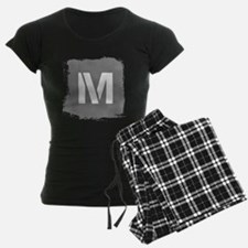 Initial Letter M. Pajamas