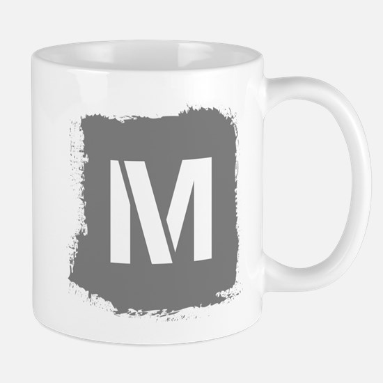 Initial Letter M. Mug