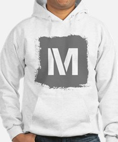 Initial Letter M. Hoodie