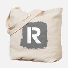 Initial Letter R. Tote Bag