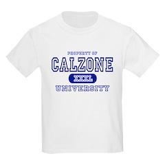 Calzone University Kids T-Shirt