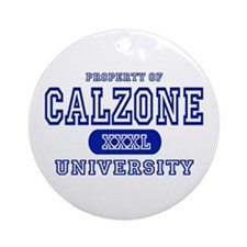 Calzone University Ornament (Round)