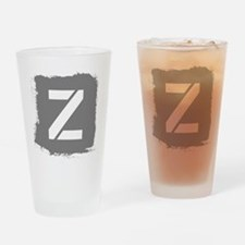 Initial Letter Z. Drinking Glass