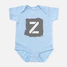 Initial Letter Z. Body Suit