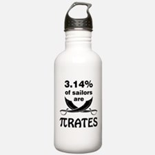 Sailors are pirates Water Bottle