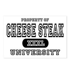 Cheese Steak University T-Shirts Postcards (Packag