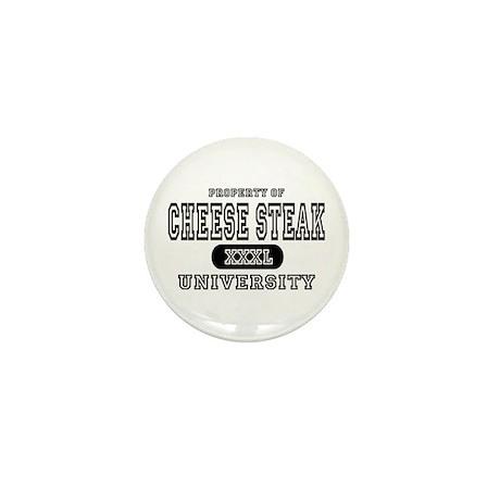 Cheese Steak University T-Shirts Mini Button