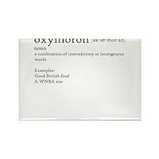 Oxymoron T-shirt Rectangle Magnet
