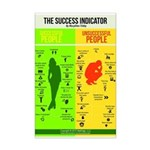 Success Indicator Mini Poster Print