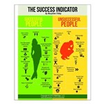 Success Indicator Small Poster