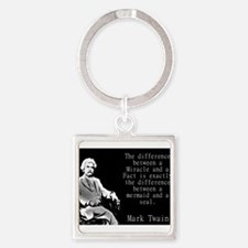 The Difference Between a Miracle - Twain Keychains