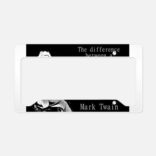 The Difference Between a Miracle - Twain License P