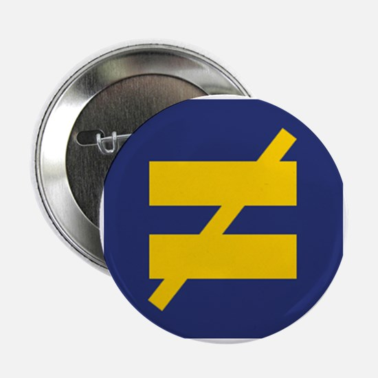 "Not Equal - Different by Design 2.25"" Button"