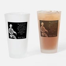 The Difference Between a Miracle - Twain Drinking
