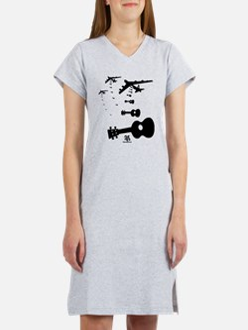 Uke Bombers Women's Nightshirt